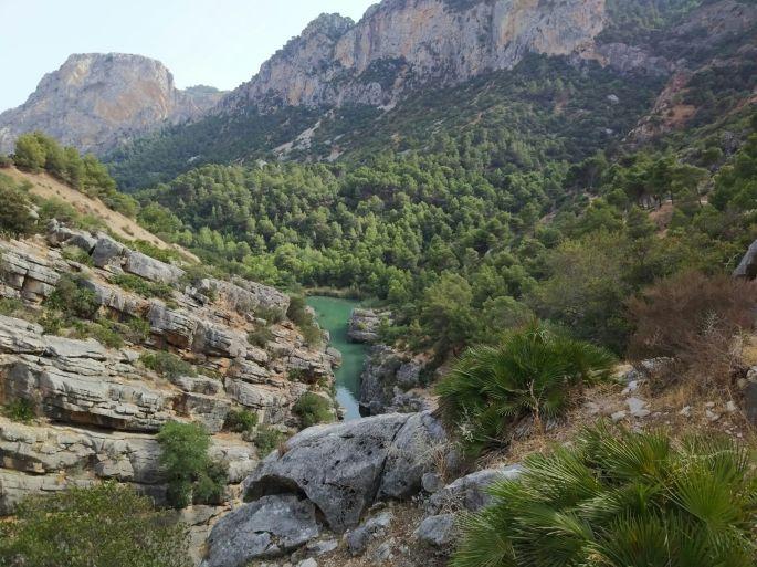Caminito del Rey path in Spain10