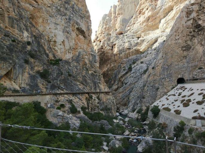 Caminito del Rey path in Spain9