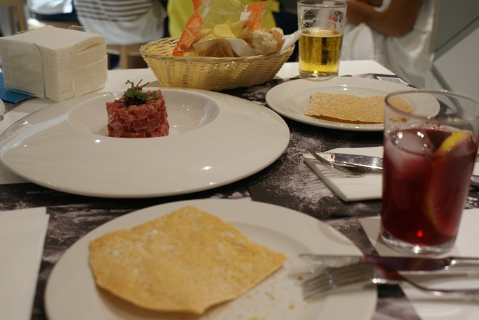 El Campero tuna restaurant in Andalusia