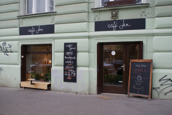 Cafe Jen in Prague