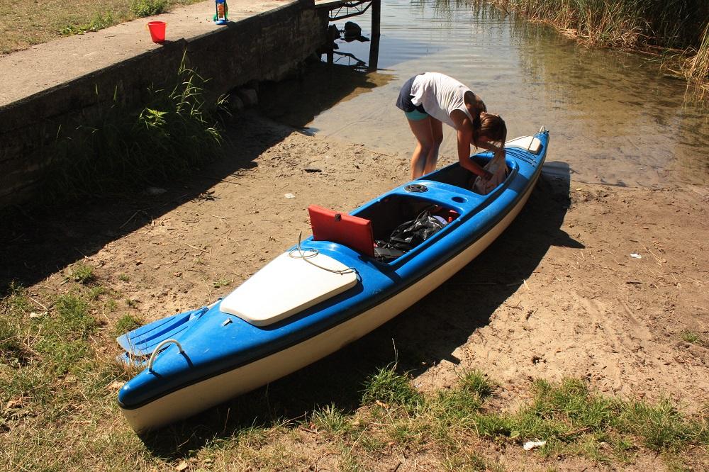 Kayaking on Krutynia river Masuria Poland2