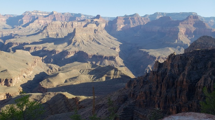 backpacking trekking hiking Grand Canyon