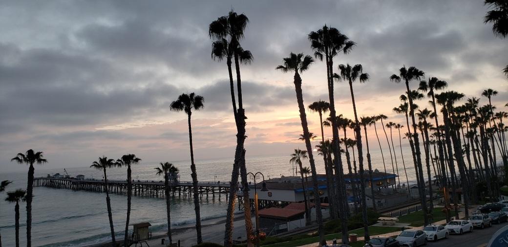 California San Clemente Surfing